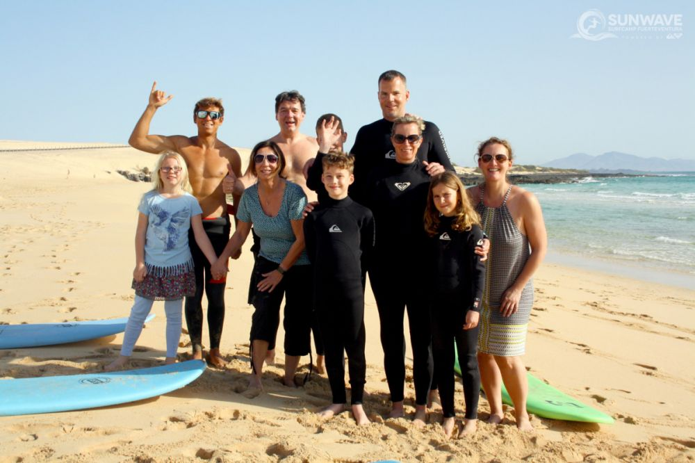 Family Surf Vacation Fuerteventura