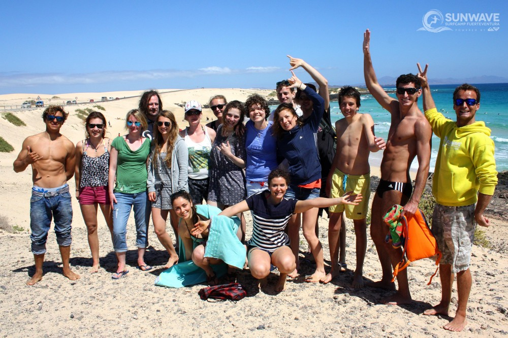 Sunwave Surfcamp Fuerteventura Images from 29th of March