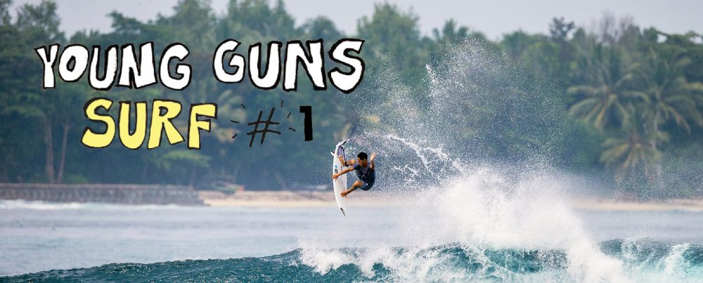 The Quiksilver Young Guns 2018 is ON!